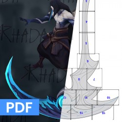 Cosplay PATTERN - Kayn's...