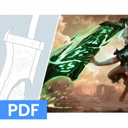 BLUEPRINT - Riven's sword...